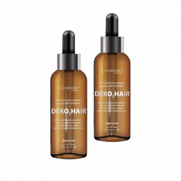 DEKOHAIR - натуральный лосьон для роста волос 60 мл 2 шт