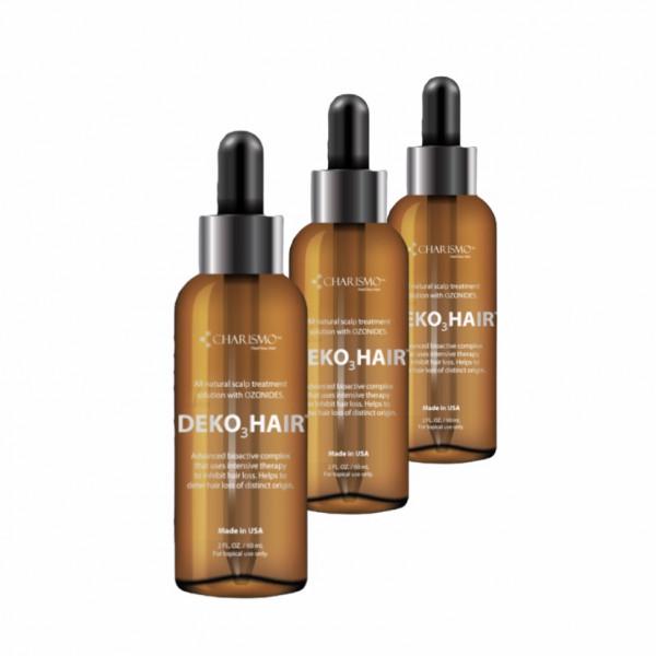 DEKOHAIR - натуральный лосьон для роста волос 60 мл 3 шт