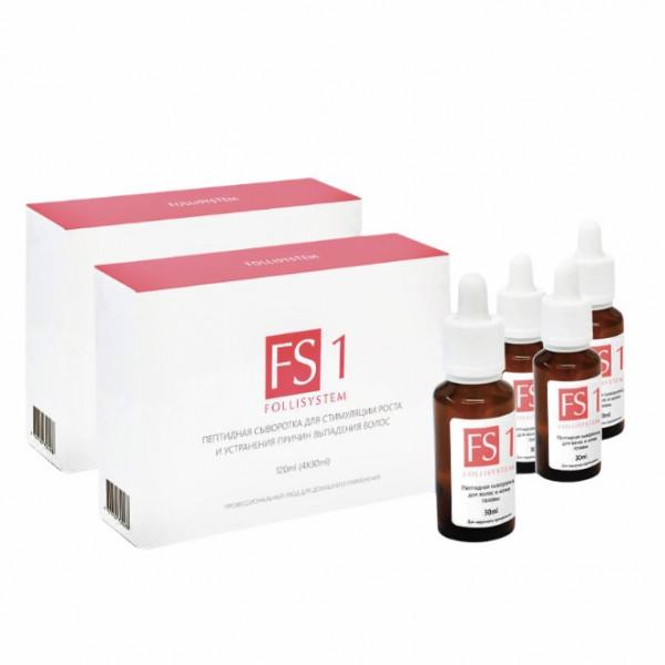 Сыворотка для стимуляции роста волос FS1, FOLLISYSTEM 8*30 мл Курс на 3-4 месяца