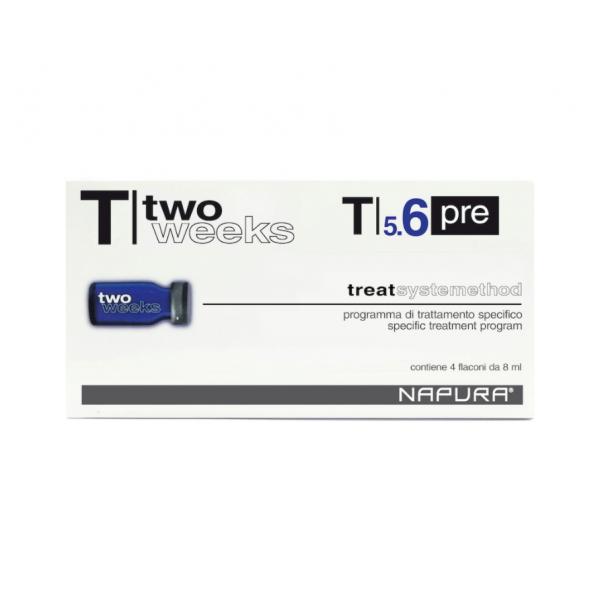 NAPURA T5.6 Active Pre ампулы-флаконы против перхоти перед шампунем 4*8 мл