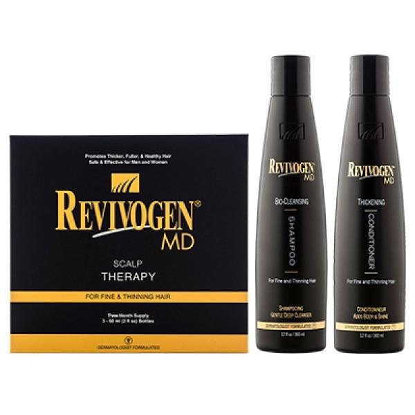 Комплекс от выпадения волос Revivogen MD полный курс на 3 месяца
