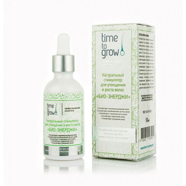 Time to grow Био Энерджи - натуральный стимулятор для роста и утолщения волос